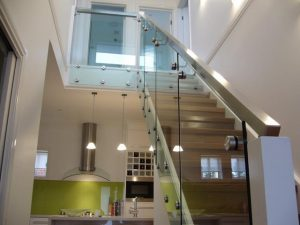 12mm glass balustrades bolt fixing