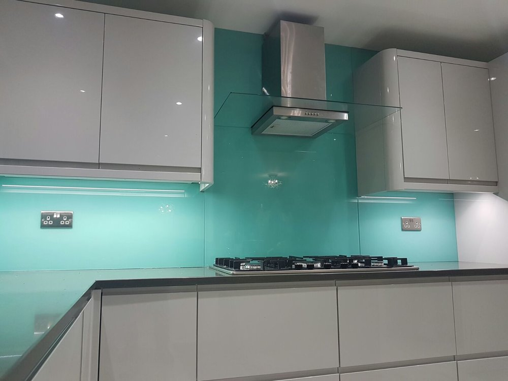 Glass Splashbacks | Kitchen Glass Splashbacks by Purple Frog