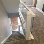 embedded glass balustrades