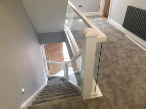 embedded glass balustrades