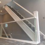 corner detail glass balustrades