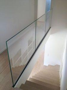infinity framless glass balustrades