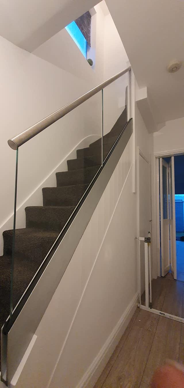 framless glass balustrades